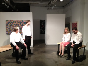 Randy Patterson, Nathan Dunkin, Christy Drogosch, &  Brian Allard in Spring Dance by Horton Foote