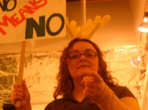 Fife Ririe in The Reindeer Monologues