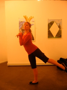 Heather Peterson in The Reindeer Monologues