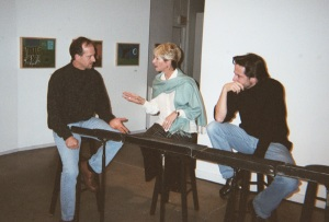 Tom Nabhan, Sharon Knorr and David Berkson in The Killing Hand