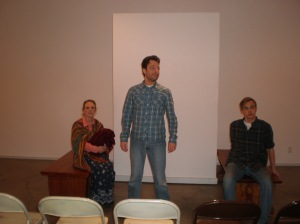 Hadley Boyd, Mary Norman Wilson and Kenneth Sergienko in