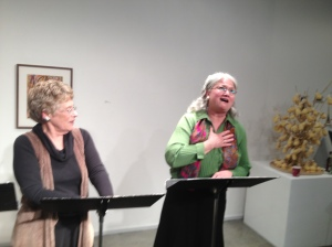 Pia Shephard as Chris Hannigan and Christine Shields as Mrs. Carmody