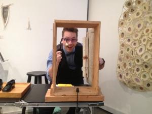 Foley Artist Jason England. Come into the shop