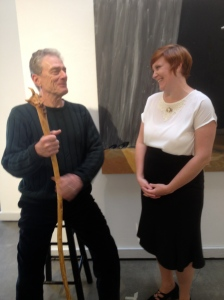 Gary Powell as Pat Scully and Sara McWilliams as Ismay Leslie in Light Falling