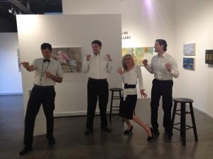 Josh Rengert, Garland Lyons, Christy Drogosh, & Spencer Conway