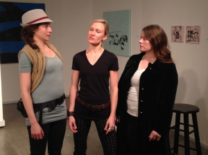 Sara Fay Goldman, Christy Drogosch, & Megan Skye Hale