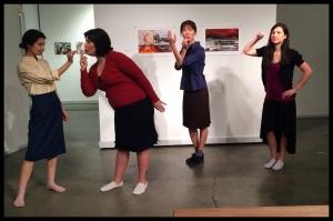 Cordelia Schimpf, Leticia Maskell, Hiromi Adachi, and Jillian Hatsumi