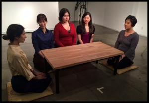 Cordelia Schimpf, Hiromi Adachi, Leticia Maskell, Jillian Hatsumi, & Wynee Hu